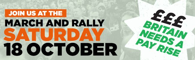 October 18 2014 - March and Rally