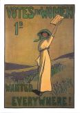 Suffragette Greetings Card: Votes for Women