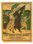 Suffragette Greetings Card: Ethel Smyth