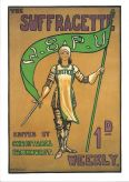 Suffragette Greetings Card: WSPU