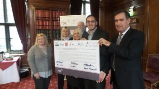 Sheffield Council and Trade Unions sign Dying to Work Charter