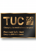 TUC President's Badge 2018