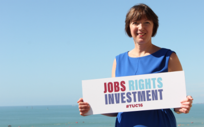 Frances O'Grady - Jobs Rights Investment