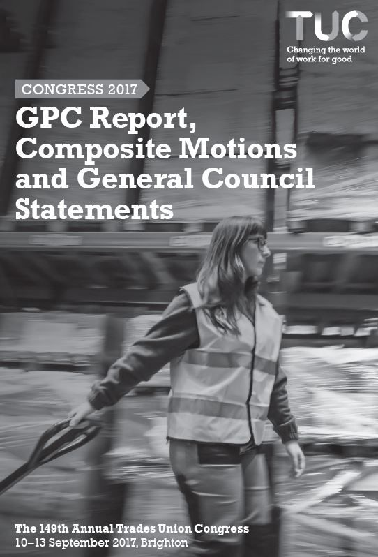 GPC report and composite motions - Congress 2017