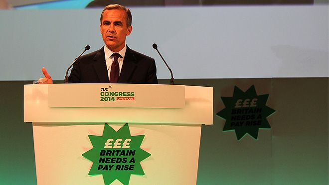 Mark Carney speaking at Congress 2014