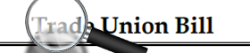About trade union bill