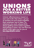 unions for a better working life leaflet