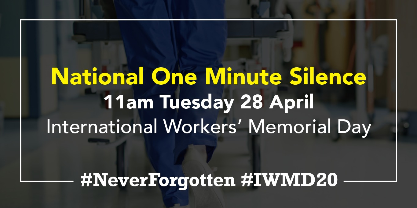 International Workers Memorial Day Iwmd Tuc