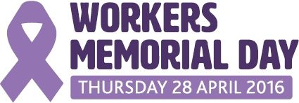 Workers memorial day 2016 logo