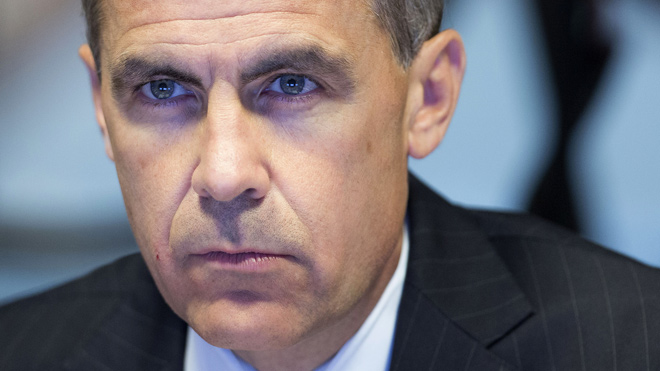 Photograph of Mark Carney