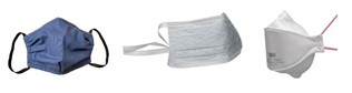 Face covering, surgical mask, FFP3