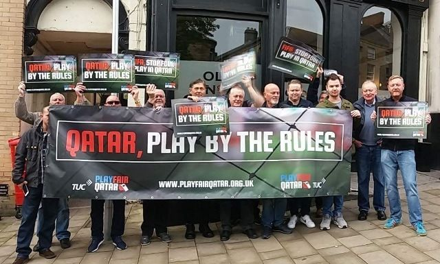 Barnsley & fulham supporters Playfair campaign
