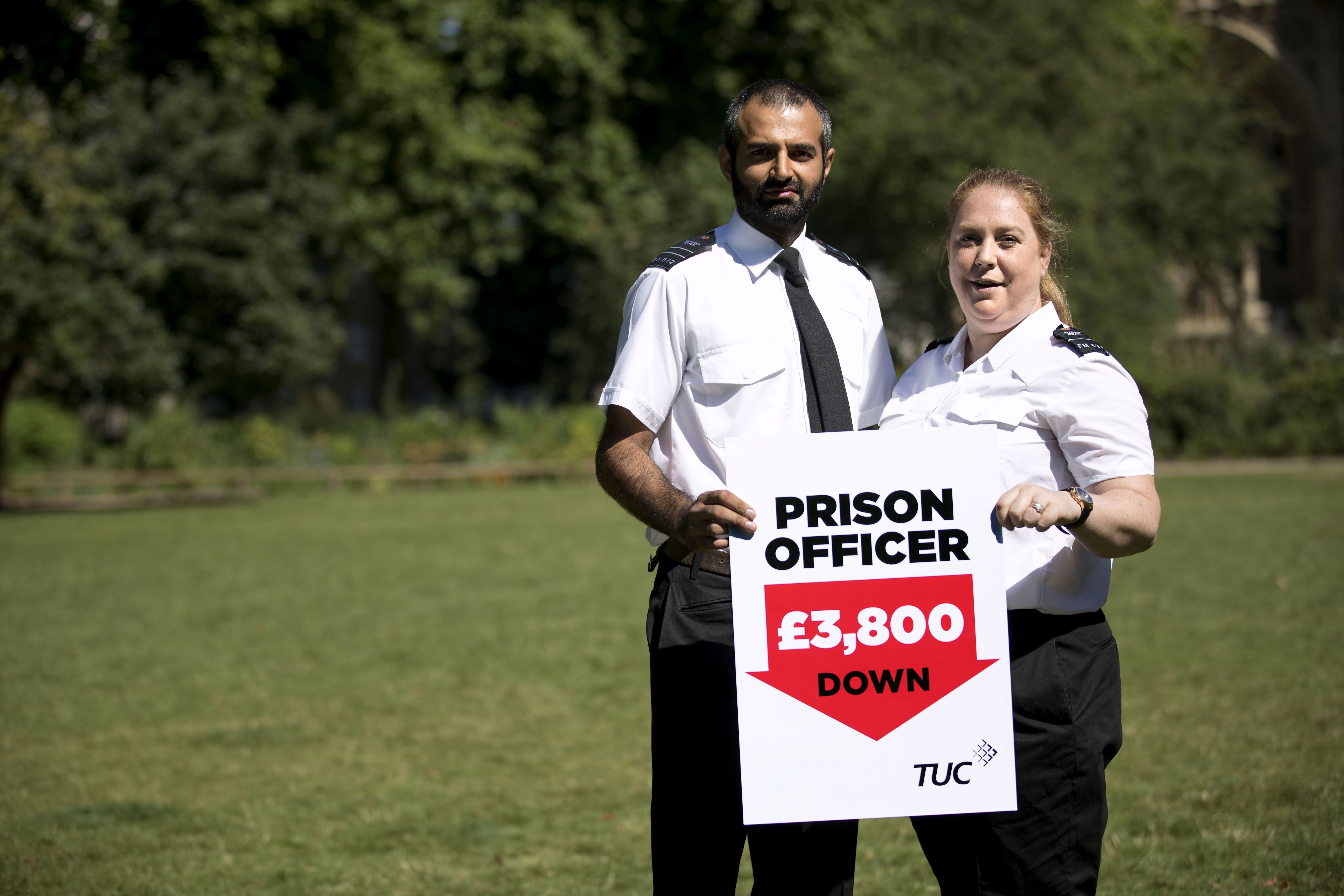 After seven years of pay cuts, I'm not proud to be a prison