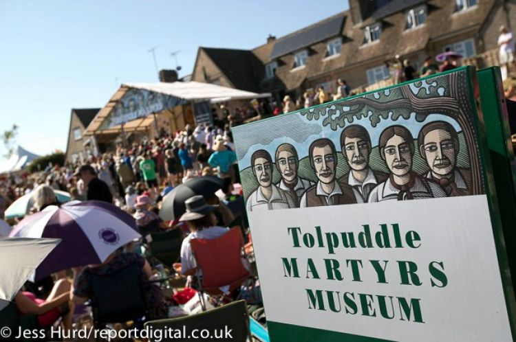 Tolpuddle Martyrs' Festival - main stage