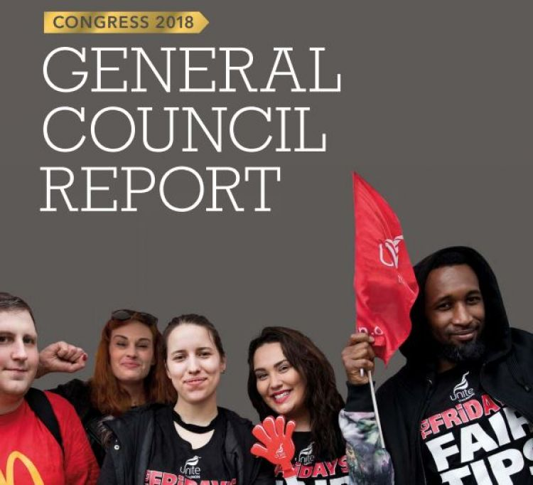 General Council Report to Congress 2018
