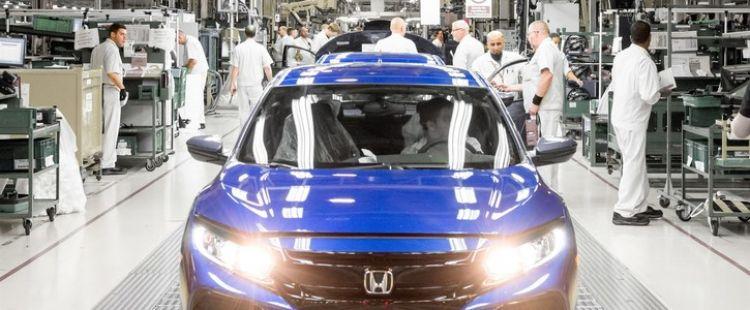 Honda car plant
