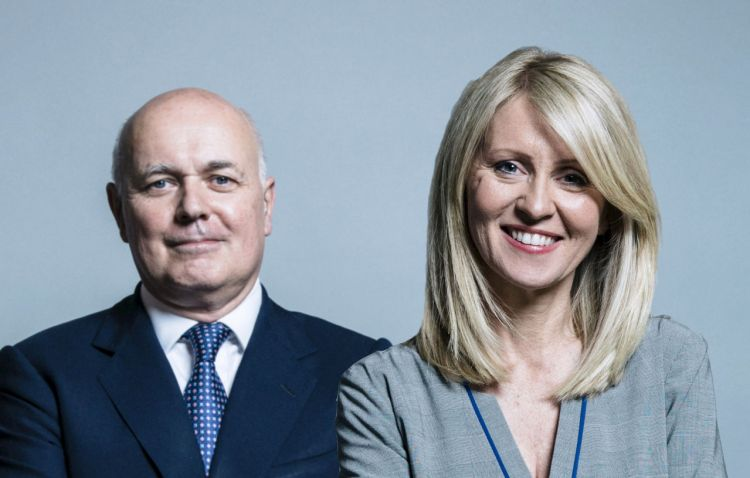 Image of Iain Duncan Smith and Esther McVey