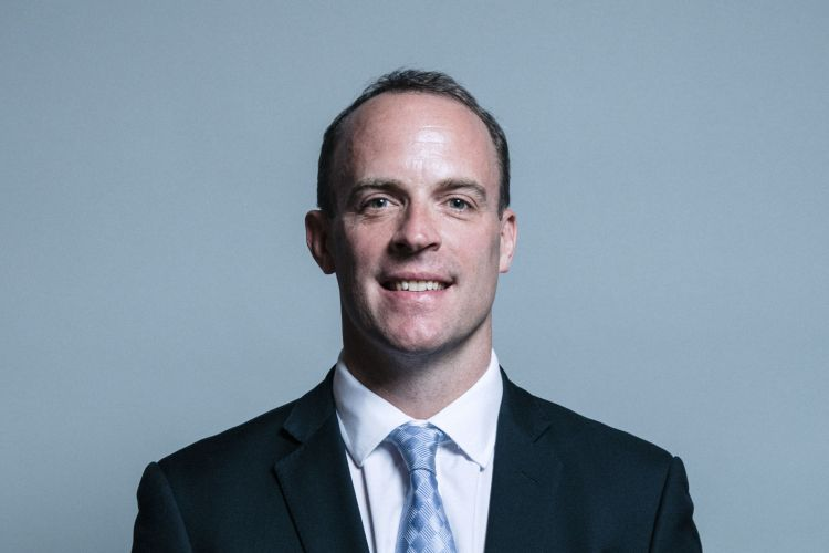 Official portrait of Dominic Raab MP