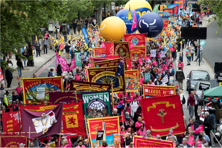 TUC march and rally 2018