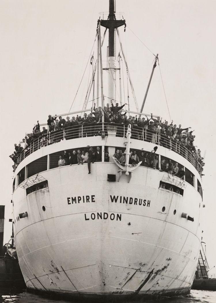 Photgraph of HMT Empire Windrush