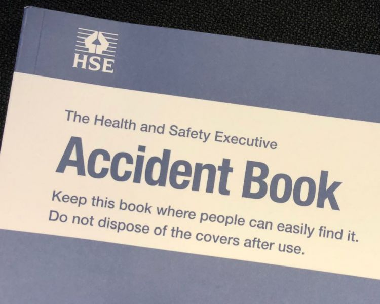 Accident book image