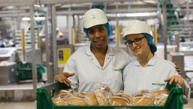 Bakery workers. Photo: Charlotte Graham / Guzelian