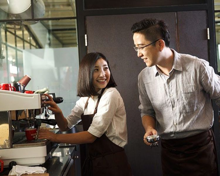 Baristas at work. Photo Viewstock