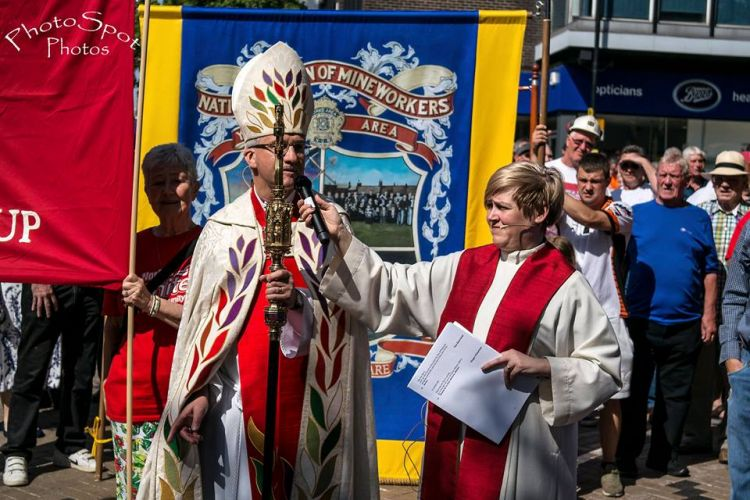 bishop blessing WBHH march