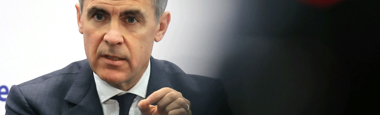 Mark Carney, Governenr of Bank of England Credit: Hannelore Foerster / Stringer