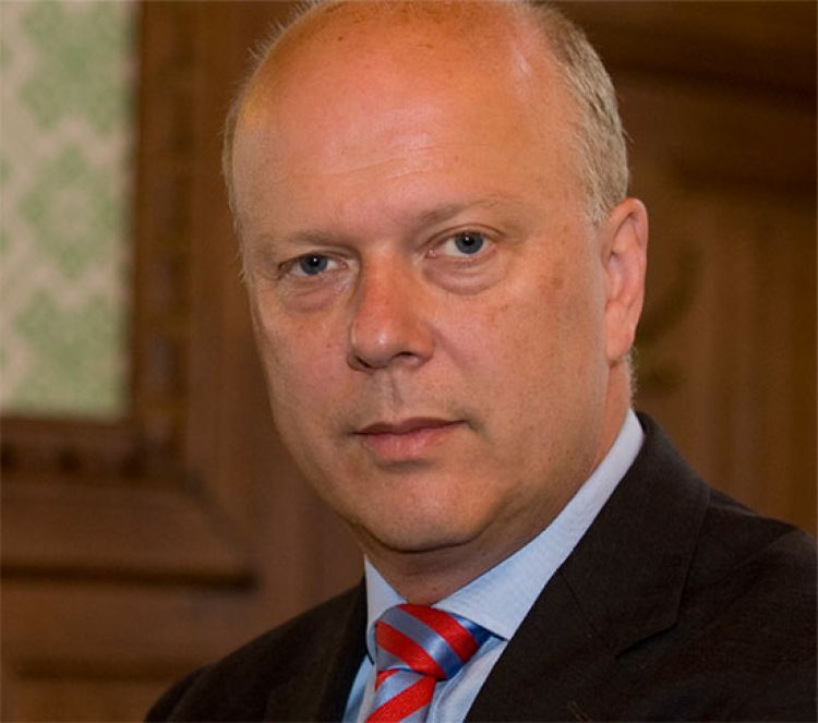 Chris Grayling. Photo: Crown Copyright