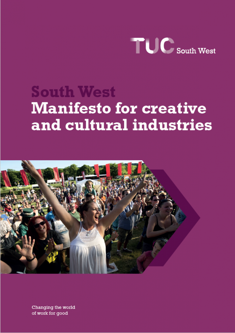TUC South West Manifesto for culture