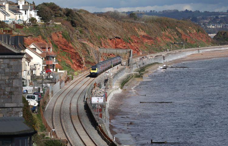 A coastal train