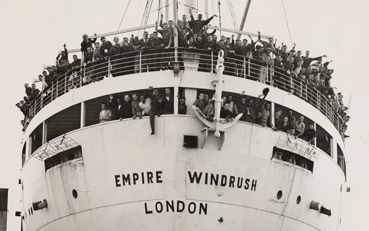 Photograph of the Windrush