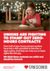 heartunions zero-hours contracts flyer